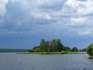 Island under the sky