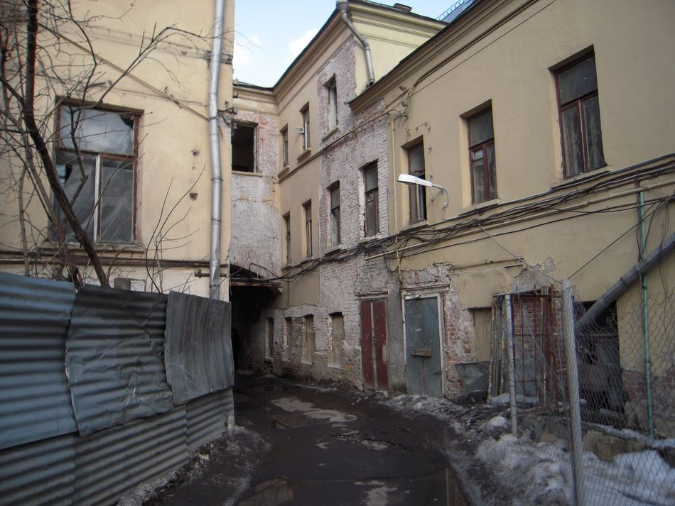 Side street, old Moscow