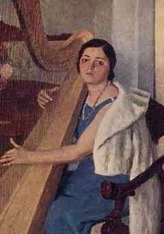 Игорь Грабарь, портрет В.Г.Дуловой 1935 г.