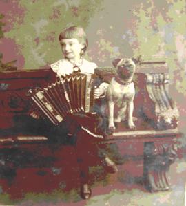 Лиззи в возрасте шести лет